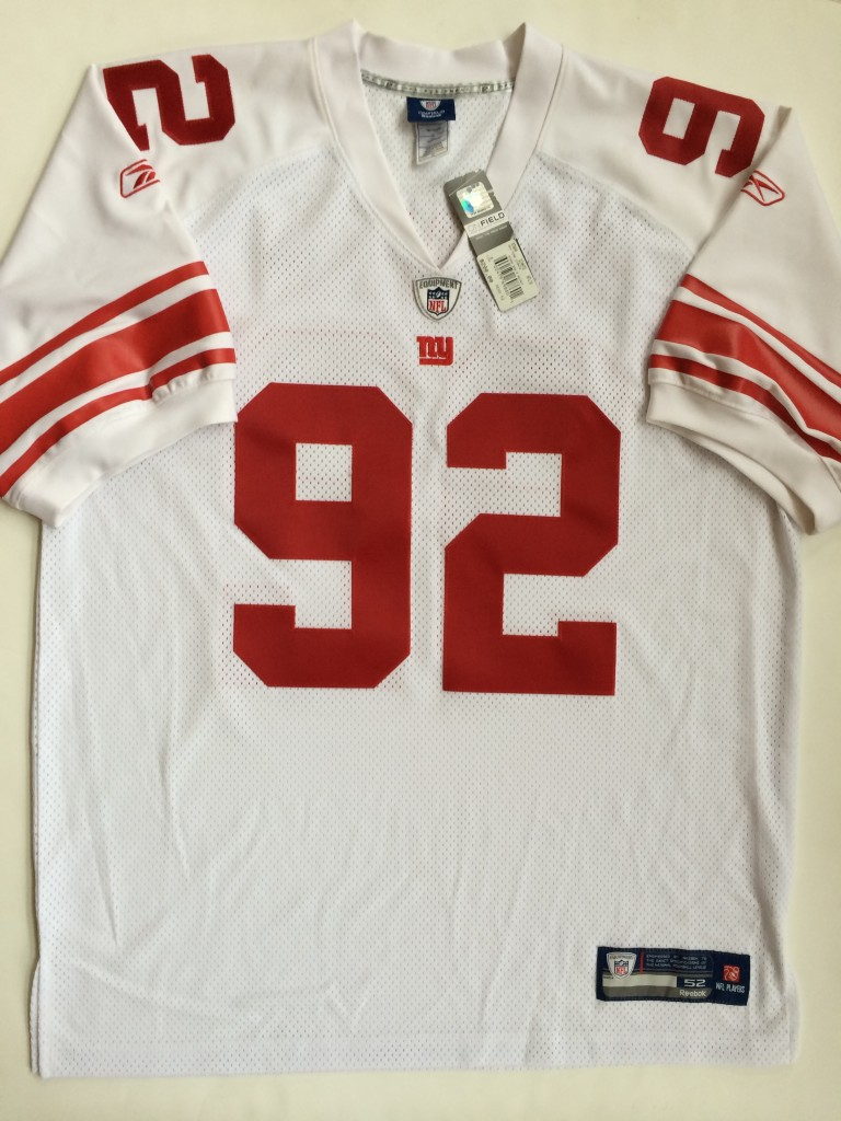 new style 642d9 a8f66 2007 Michael Strahan New York Giants Reebok NFL Jersey