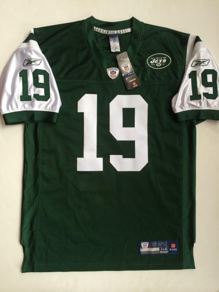 2000 Keyshawn Johnson New York Jets Authentic Reebok NFL Jersey