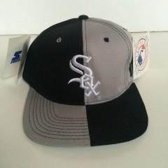 vintage chicago white sox starter snapback hat cap