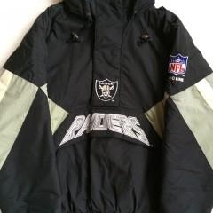 vintage Oakland raiders starter nfl jacket