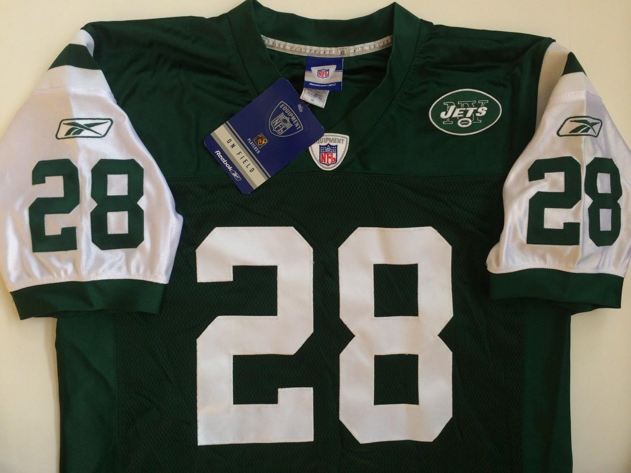 2005 Curtis Martin New York Jets Authentic Reebok NFL Jersey