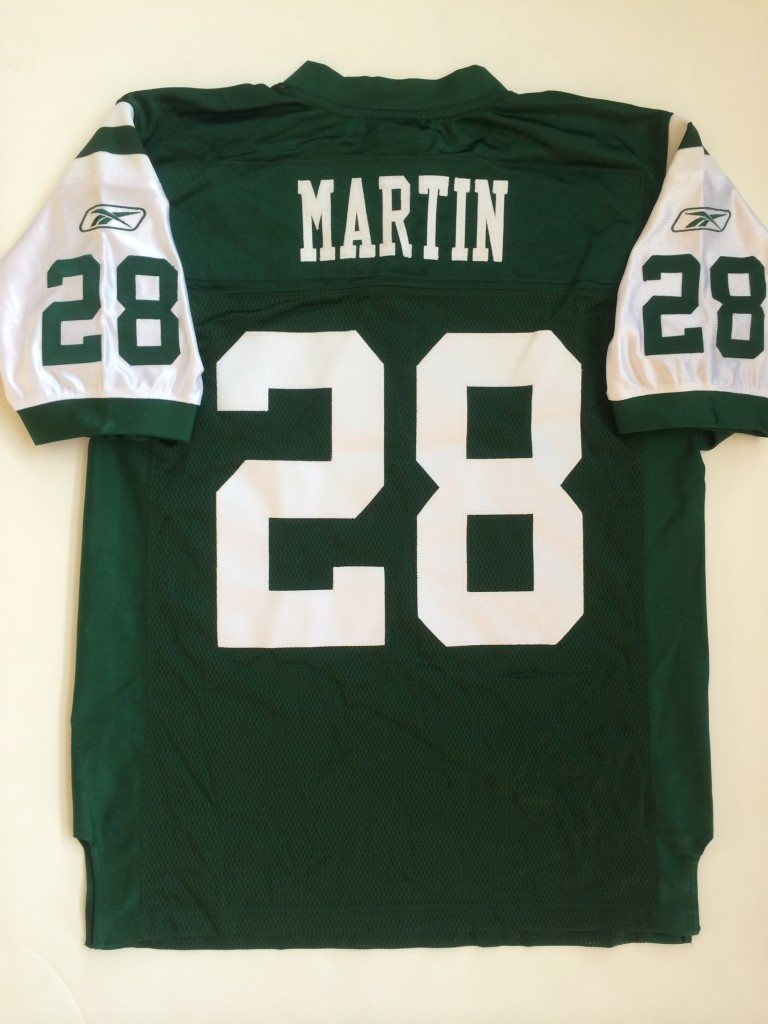 30b504d18af 2005 Curtis Martin New York Jets Authentic Reebok NFL Jersey | Rare Vntg