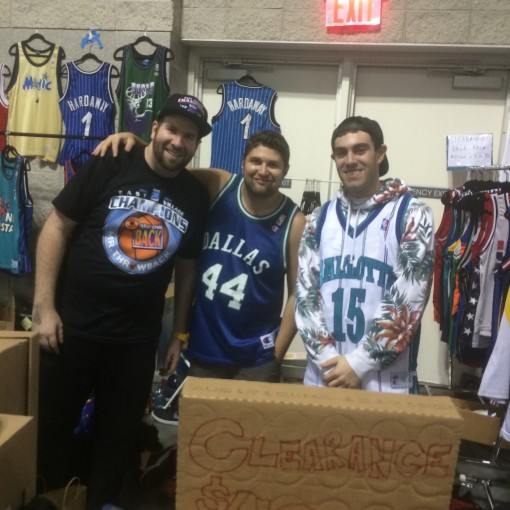 rare vntg x mr throwback at sneaker con new york city 2014