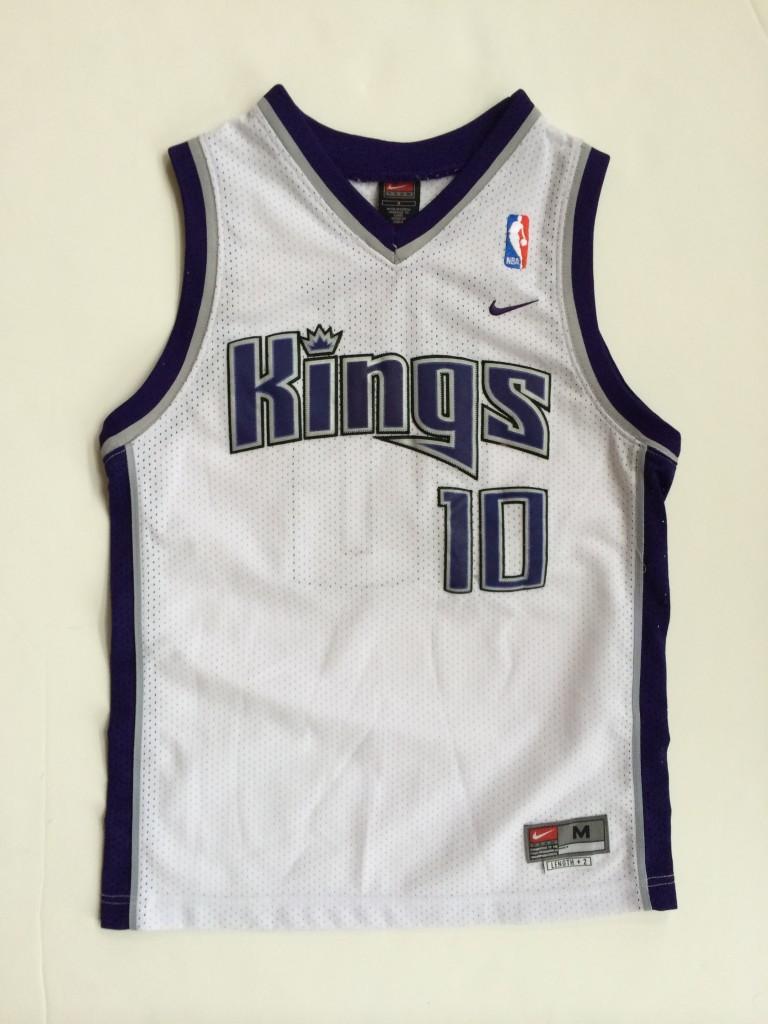 big sale 10aa8 d0088 2004 Mike Bibby Sacramento Kings Nike Swingman NBA Jersey Youth Medium