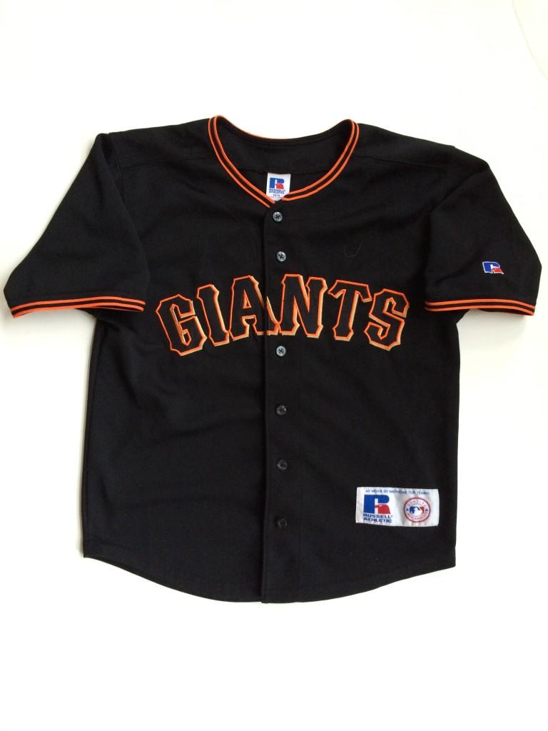 e3530c67e27 vintage san francisco giants barry bonds russell mlb jersey youth medium
