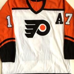 vintage rod brind'amour philadelphia flyers throwback nhl ccm hockey jersey