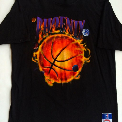 phoenix suns vintage 1993 nutmeg t shirt