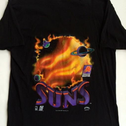 throwback phoenix suns vintage t shirt