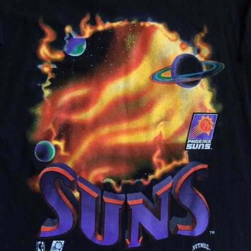 vintage phoenix suns nutmeg nba t shirt
