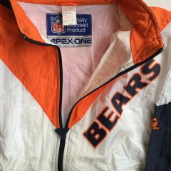 vintage chicago bears apex one nfl jacket