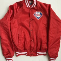 vintage chalkline philadelphia phillies satin mlb jacket