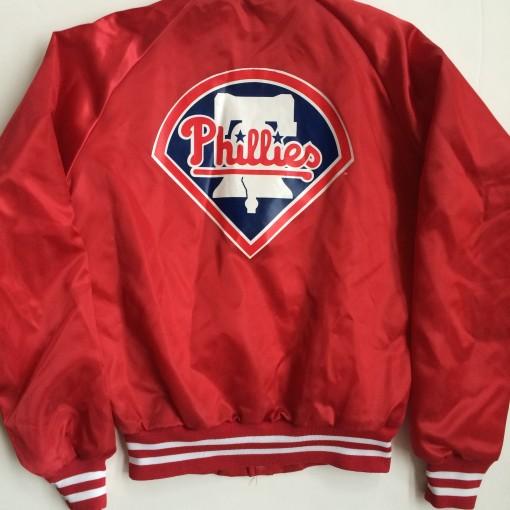 Vintage Philadelphia Phillies Chalkline jacket youth XL