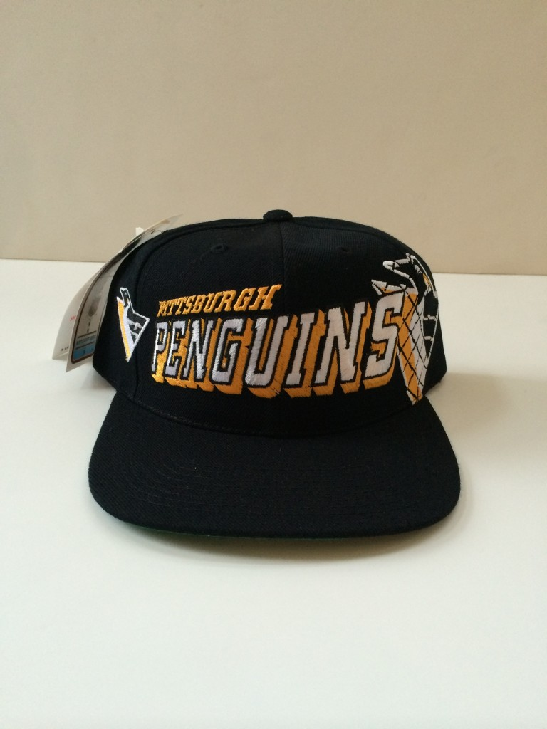 5bcd9431 ... sale vintage pittsburgh penguins sports specialties nhl snapback hat  30cde 44105