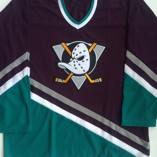vintage Anaheim mighty ducks throwback disney nhl jersey size large