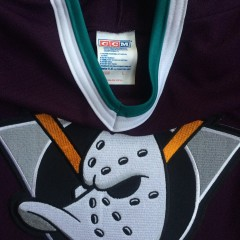 throwback mighty ducks jersey ccm