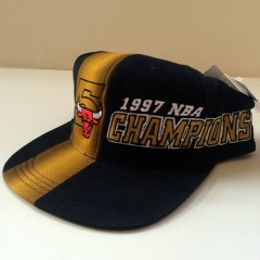 1997 NBA Champions Chicago Bulls snapback hat