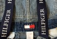 classic 90's tommy hilfiger denim overalls