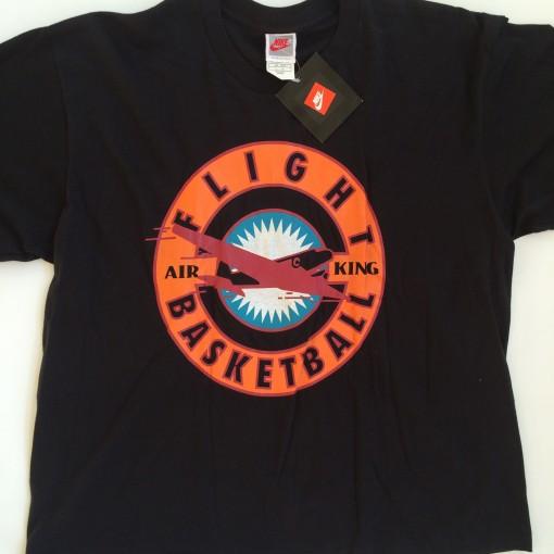 vintage 90's nike basketball flight air king t shirt large