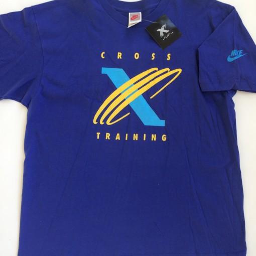 vintage nike cross training purple t shirt size large