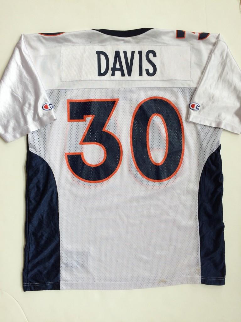 lowest price 6c506 63967 1997 Terrell Davis Denver Broncos Champion NFL Jersey Size 44