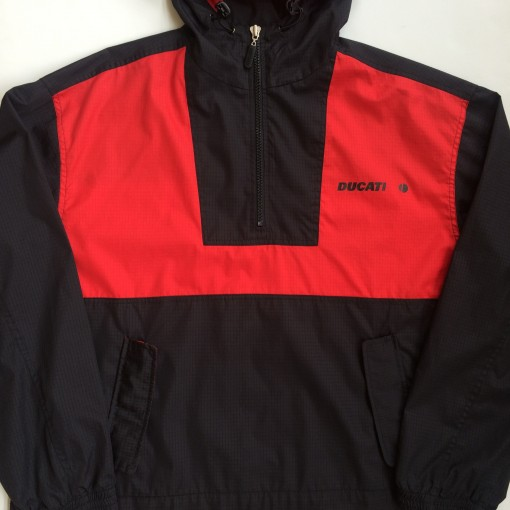 vintage ducati racing jacket throwback vintage size large