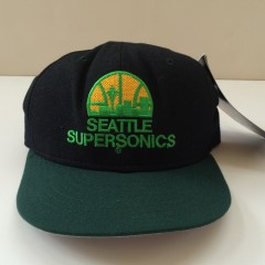 vintage seattle supersonics New Era NBA fitted hat size  7