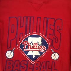 1992 philadelphia phillies mlb sweatshirt xl