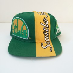 seattle supersonics sports specialties top script snapback