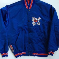 vintage denver nuggets starter satin nba jacket xl