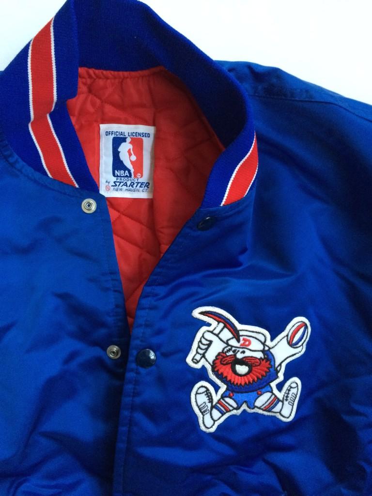 cheaper 55b3f 78ea3 Vintage 80's Denver Nuggets Starter NBA Satin Jacket Size XL
