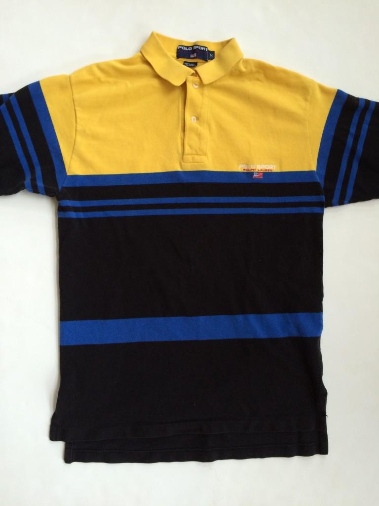 Vintage 90 s Ralph Lauren Polo Sport Polo Shirt Size Medium  ce6dea9db6c09