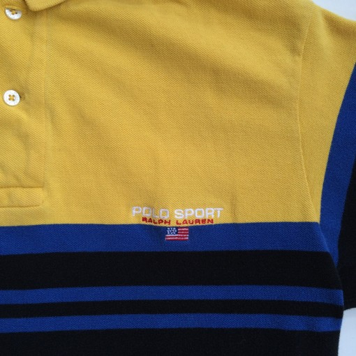 vintage polo sport 90's polo shirt size medium