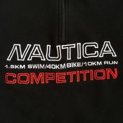 vintage nautica competition fleece 90's medium
