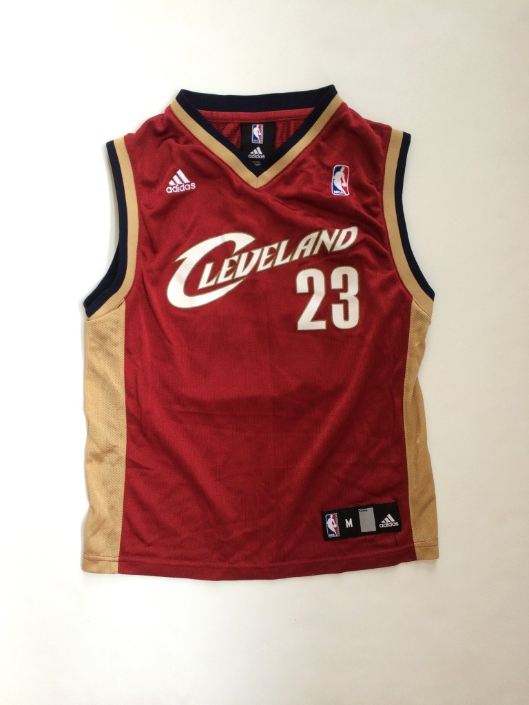 premium selection f11a5 62db8 2005 Lebron James Cleveland Cavaliers Adidas NBA Jersey Youth Medium