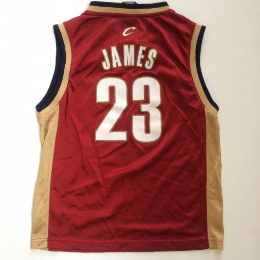 lebron james cavs rookie jersey youth medium