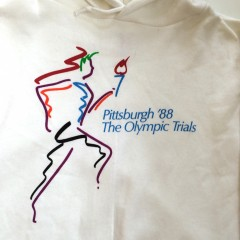 Pittsburgh The olympic trials hoody vintage 1988