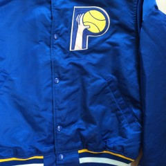vintage 80's indiana pacers nba jacket