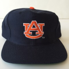university of Auburn Tigers vintage 90's new era snapback hat