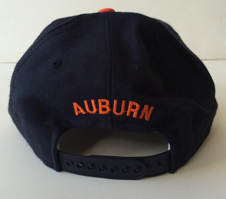 1c1c834c1edb3 Vintage Auburn Tigers New Era NCAA Snapback Hat