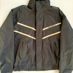 vintage saucony magic windbreaker jacket small