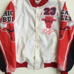 vintage michael jordan chicago bulls chalkline fanimation jacket