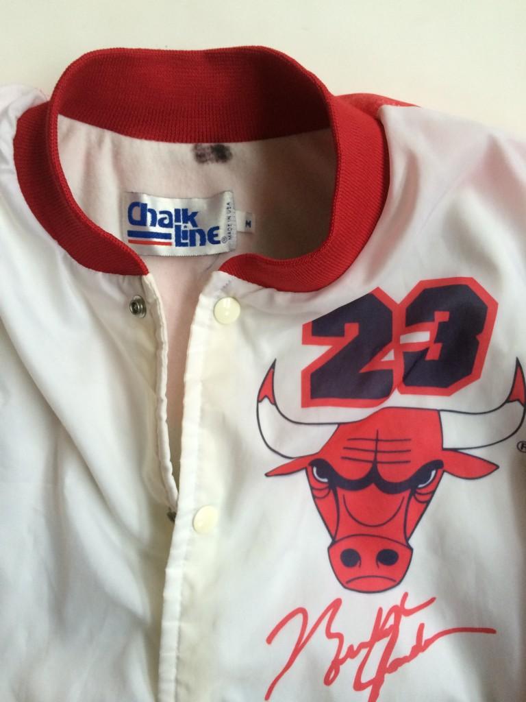 3435e847f8a6 vintage michael jordan chicago bulls chalkline fanimation jacket. IMG 0052