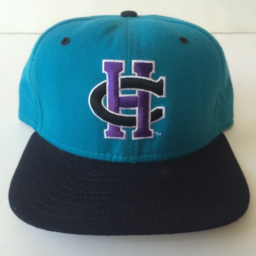 vintage charlotte hornets new era nba snapback hat