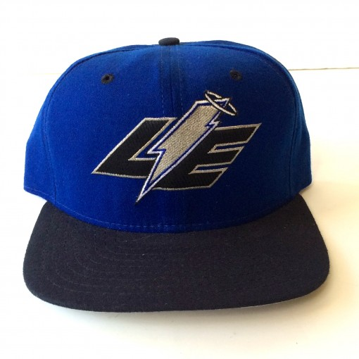 vintage Lake Elsinore Storm minor league baseball snapback hat