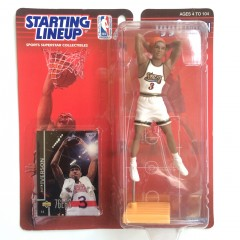 Vintage Allen Iverson Starting Lineup toy figure 1998