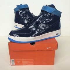 vintage nike air force one sheed rasheed wallace navy/carolina blue size 12