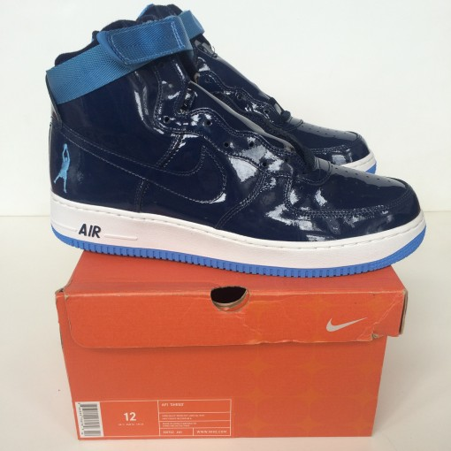 Air force one rasheed wallace vintage patent leather