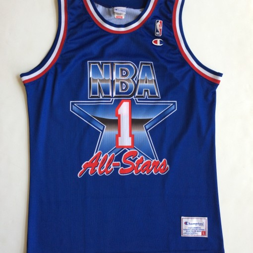 vintage 1992 NBA All star jersey western conference size large