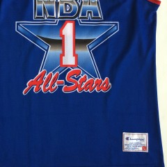 european 1992 NBA All star jersey