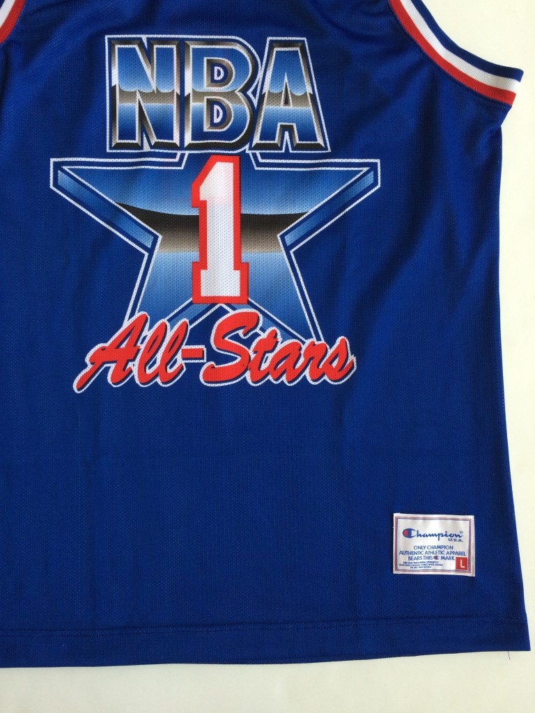 ... western conference size large. european 1992 NBA All star jersey 50ba5bb3b